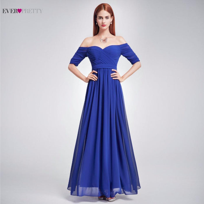 Elegant Woman Off The Shoulder Prom Dress Ep07411 Ever Pretty Floor Length  Burgundy 4bcd97ce8249
