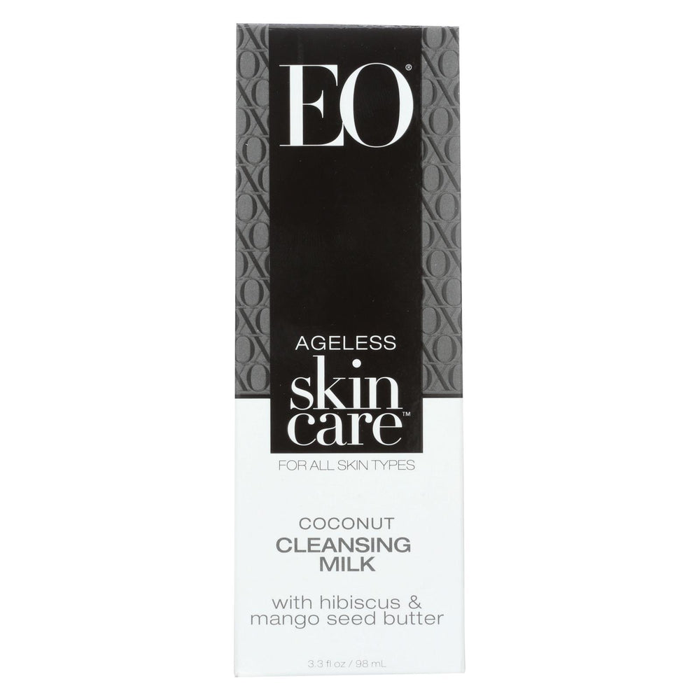 Eo Products - Cleansing Milk - Ageless - Coconut - 3.3 Oz - 1 Each-Eco-Friendly Home & Grocery-Eo Products-EpicWorldStore.com