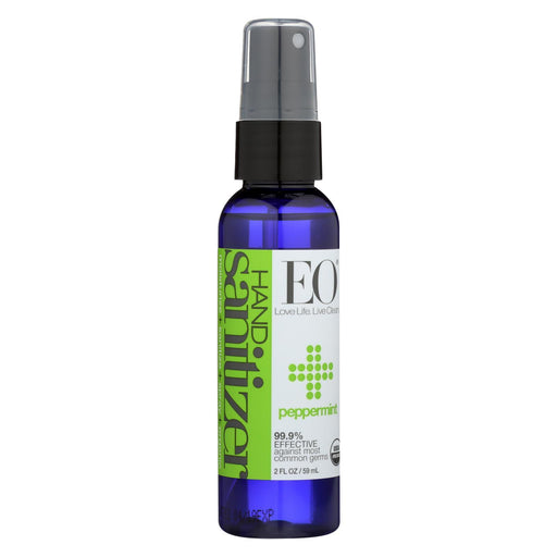 Eo Products - Hand Sanitizer Spray - Peppermint - Case Of 6 - 2 Oz-Eco-Friendly Home & Grocery-Eo Products-EpicWorldStore.com