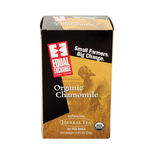 Equal Exchange Organic Chamomile Tea - Chamomile Tea - Case Of 6 - 20 Bags-Eco-Friendly Home & Grocery-Equal Exchange-EpicWorldStore.com