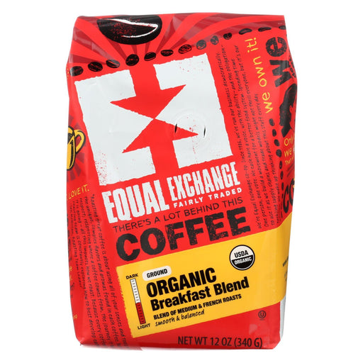 Equal Exchange Organic Drip Coffee - Breakfast Blend - Case Of 6 - 12 Oz.-Eco-Friendly Home & Grocery-Equal Exchange-EpicWorldStore.com