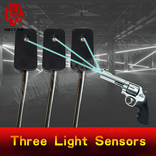 Escape Room Prop Three Light Sensors Prop Shooting The Laser In The Same Time To Unlock From-Escape Room Props-JXKJ1987 Room Escape Prop Store-3 sensors-EpicWorldStore.com