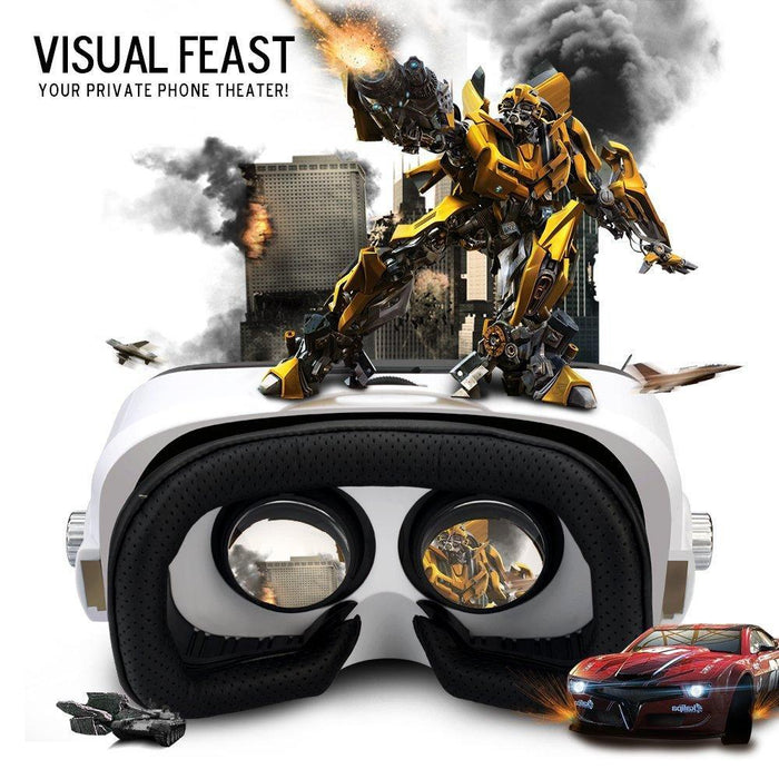 2d1a1f3aa8d6 Etvr Z4 Mini 3D Virtual Reality Goggles Immersive Cardboard Daydream Vr  Glasses Helmet For 4.7-