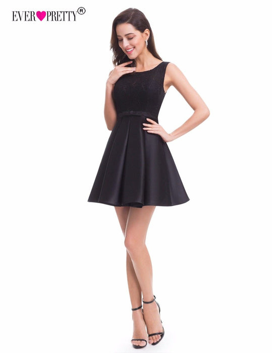 Ever Pretty Lace Homecoming Dresses New A Line Sleeveless Little ...