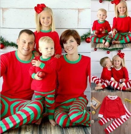 f228f4661f993 Family Matching Christmas Pajamas Family Clothing Mother Daughter Father  Son Clothes Family Clothing