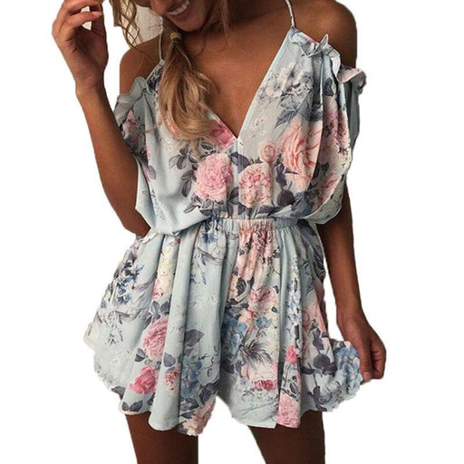 edc47242aeff Fashion Bodysuit Rompers Women Summer Jumpsuit Hot Playsuit Clothes Macacao  Feminino Overalls Casual-Topcool Fashion