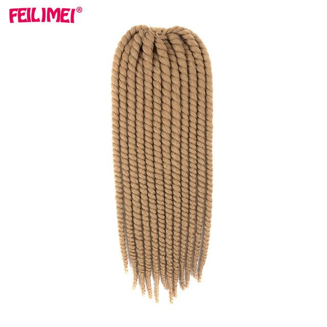 Feilimei Ombre Mambo Twist Braiding Hair 120g 2x Crochet Twist