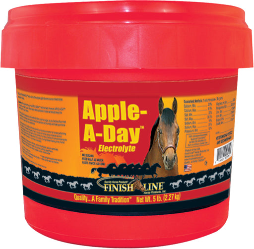 Finish Line - Apple-A-Day Electrolyte-Pet-Finish Line-APPLE-5 POUND-EpicWorldStore.com