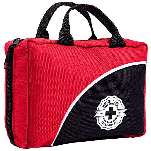 First Aid Kit / 160 Piece / Complete Emergency Bag Fully Stocked With Medical Supplies-Home Essentials-Amazon-EpicWorldStore.com