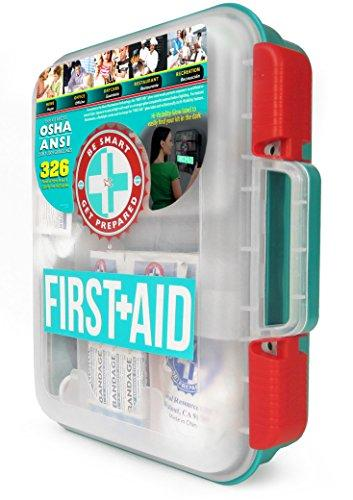 First Aid Kit Hard Case / 326 Piece-Home Essentials-Amazon-EpicWorldStore.com