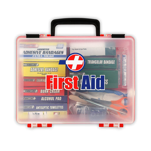 First Aid Premium 25 Person First Aid Kit In Detachable Wall Mountable Poly Case-Home Essentials-Amazon-EpicWorldStore.com