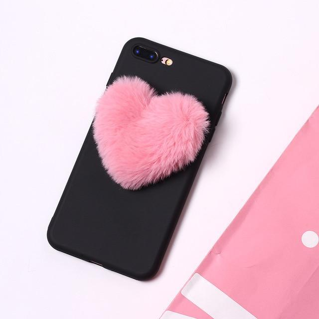 iphone xr case with pom pom