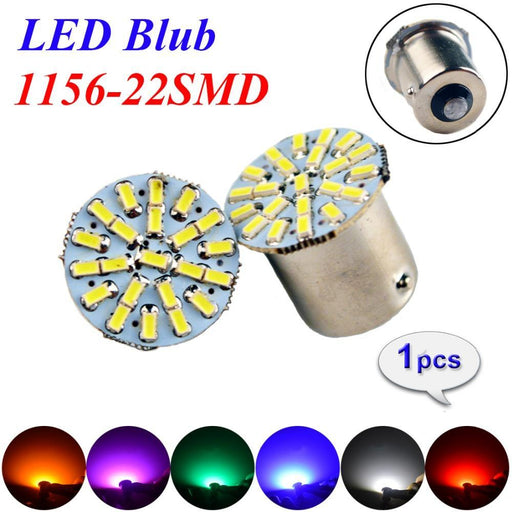 Flytop 1156 22Smd P21W Ba15S Led Bulb Car Auto Front Lights Brake Lights Lights Turn Lights Parrking-Car Lights-LHY-Blue-EpicWorldStore.com