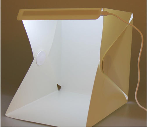 Foldable Lightbox Photo Studio Photography Backdrop Portable Light Room Mini Photo Studio-Camera & Photo-Sindax Official Store-22.6x23x24cm-EpicWorldStore.com