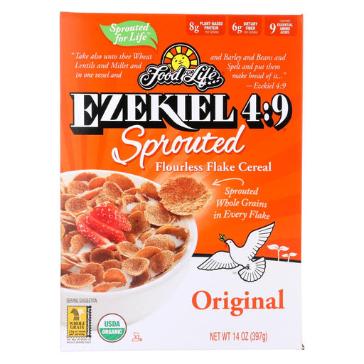 Food For Life Organic Flake Cereal - Ezekiel 4:9 Original - Case Of 6 - 14 Oz-Eco-Friendly Home & Grocery-Food For Life-EpicWorldStore.com