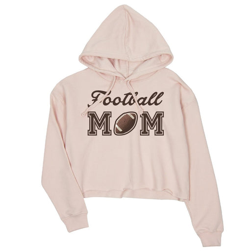 58beb81c Football Mom Womens Winter Hooded Sweatshirt Mom Christmas Gift-Apparel &  Accessories-365 Printing