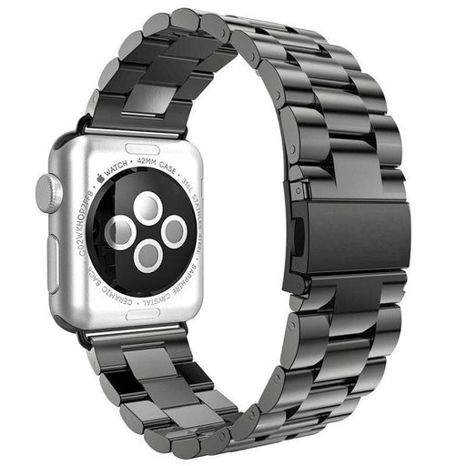 For Apple Watch Band 42Mm Black Gold Stainless Steel Bracelet Buckle Strap Clip Adapter For Apple-Watch Accessories-Tiny Boutique World-42mm Black-EpicWorldStore.com