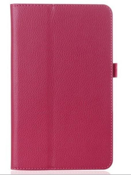 For Samsung Galaxy Tab 2 10.1 Inch Gt-P5100 P5110 P5113 Tablet Case Leather Pu Stand Folio Put-Tablet Accessories-GARUNK Official Flagship Store-rose red-EpicWorldStore.com