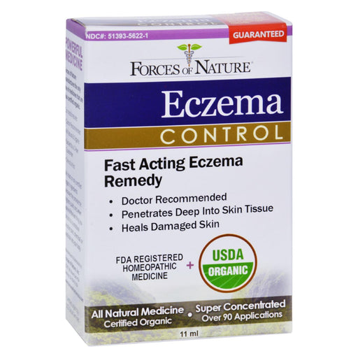 Forces Of Nature - Organic Eczema Control - 11 Ml-Eco-Friendly Home & Grocery-Forces Of Nature-EpicWorldStore.com