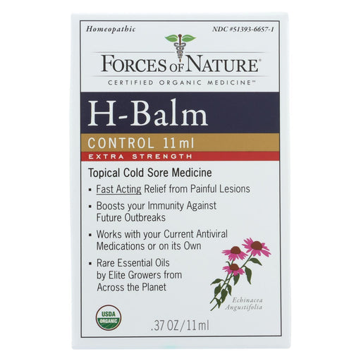 Forces Of Nature - Organic H-Balm Daily Control - Extra Strength - 11 Ml-Eco-Friendly Home & Grocery-Forces Of Nature-EpicWorldStore.com