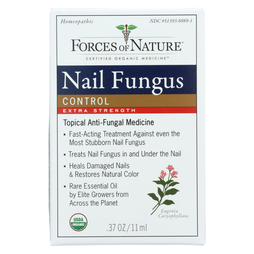 Forces Of Nature - Organic Nail Fungus Control - Extra Strength - 11 Ml-Eco-Friendly Home & Grocery-Forces Of Nature-EpicWorldStore.com