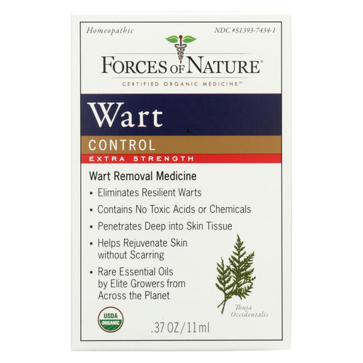 Forces Of Nature - Organic Wart Control - Extra Strength - 11 Ml-Eco-Friendly Home & Grocery-Forces Of Nature-EpicWorldStore.com