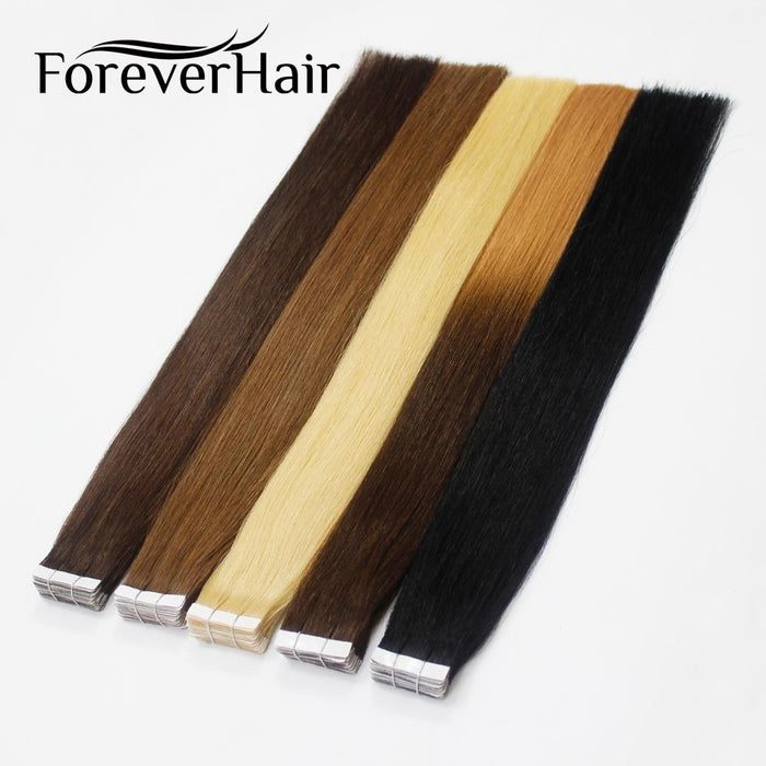 Forever Hair 20gpc 18 Remy Tape In Human Hair Extension Natural