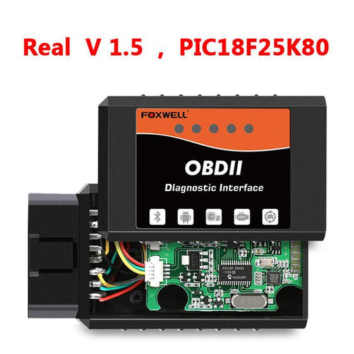 Foxwell Fw202 Obd2 Elm327 Bluetooth V1.5 Pic18F25K80 Odb 2 Car Code Reader Scanner Obdii Odb2 Odb Ii-Car Repair Tools-FOXWELL Official Store-3 Pieces-EpicWorldStore.com