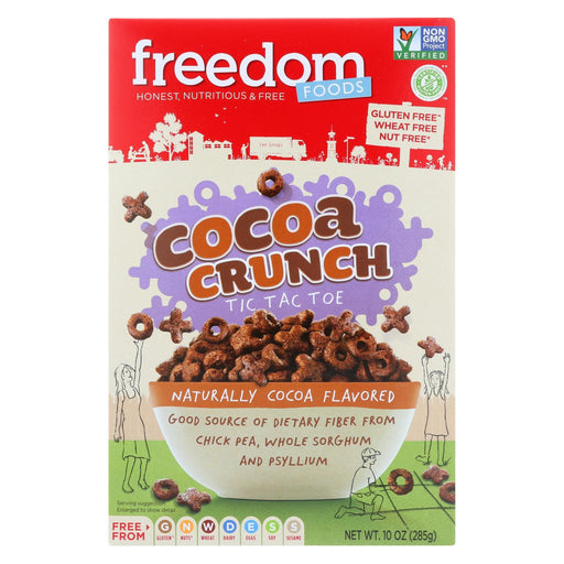 Freedom Foods - Cereal - Cocoa Crunch - Gluten Free - 10 Oz - Case Of 5-Eco-Friendly Home & Grocery-Freedom Foods-EpicWorldStore.com