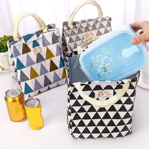 Fresh Insulated Lunch Bag Thermal Portable Tote Cooler Lunch Bag For Women Kids Food-Functional Bags-XYZ Store-1-EpicWorldStore.com