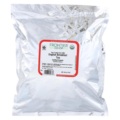 Frontier Herb Tea - Organic - Fair Trade Certified - Black - English Breakfast - Bulk - 1 Lb-Eco-Friendly Home & Grocery-Frontier Herb-EpicWorldStore.com