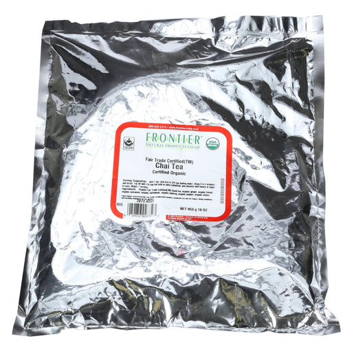 Frontier Herb Tea - Organic - Fair Trade Certified - Chai - Bulk - 1 Lb-Eco-Friendly Home & Grocery-Frontier Herb-EpicWorldStore.com