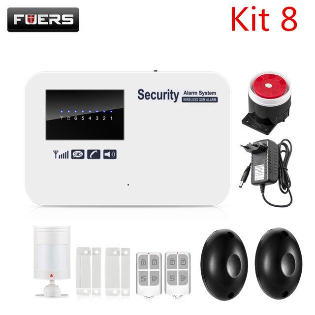 Fuers Alarm Systems Security Home Ios Android App Control Auto Dial Home  Security Smart English