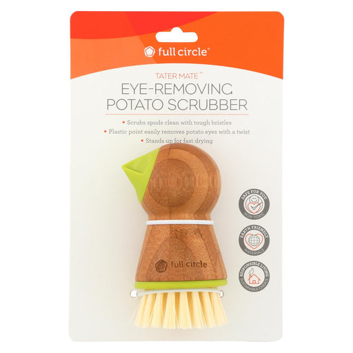 Full Circle Home Tater Mate Potato Brush With Eye Remover - Case Of 6-Eco-Friendly Home & Grocery-Full Circle Home-EpicWorldStore.com
