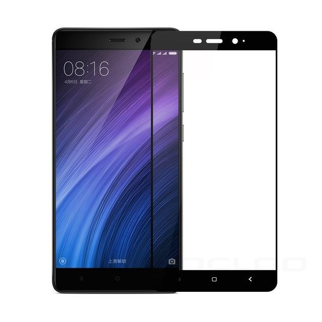 wholesale dealer 4b975 1a847 Full Cover Tempered Glass For Xiaomi Redmi Note 4X 4 Pro 4A Prime 3 3S 3X 5  Note 5A 3 4 Mi5 Mi5S