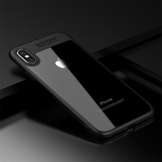 buy online 09c8e 919fe Full Protective Case For Iphone X Case Acrylic Hard Clear Slim Back Cover  For Iphone 6 6S 7 8 8 Plus