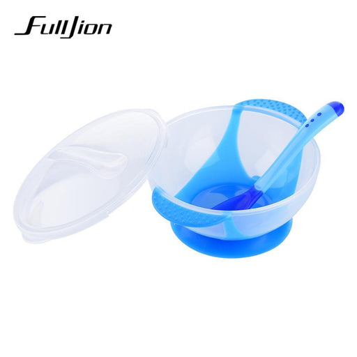 Baby Feeding Dish Cute Baby Kids Universal  Rotate Spill-Proof Bowl FZ