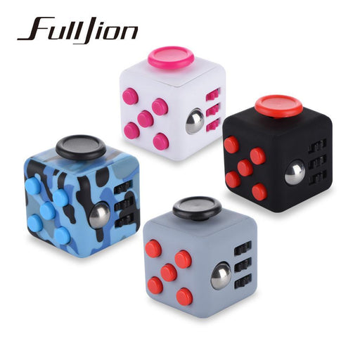 Fulljion Fidget Cube Antistress Toy Entertainment Anti-Stress Anxiety Reliever Magic Figet Cube-Novelty & Gag Toys-SaiCi-1-EpicWorldStore.com