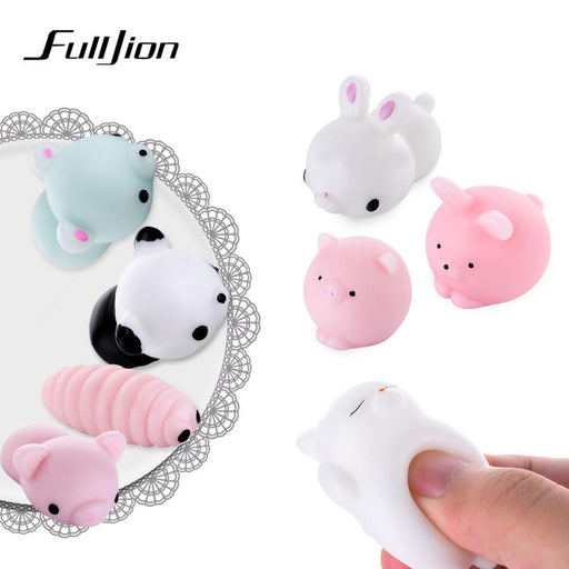 Fulljion Slime Entertainment Antistress Squishy Cat Animal Stress Relief Toys Novelty Gags Practical-Novelty & Gag Toys-Grassy Prairie-Squishy Polar bear-EpicWorldStore.com