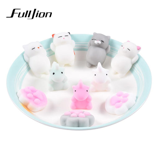 Fulljion Squishy Cat Unicorn Antistress Slime Entertainment Stress Relief Toys For Children Gadget-Novelty & Gag Toys-Grassy Prairie-Squishy Cat-EpicWorldStore.com