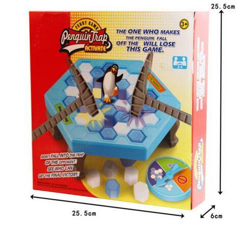 Funny Ice Breaking Save The Penguin Desktop Game Educational Autism Toys For Children Kids-Gags & Practical Jokes-muddy Puddles muddy Puddles Store-Include Original Box-EpicWorldStore.com