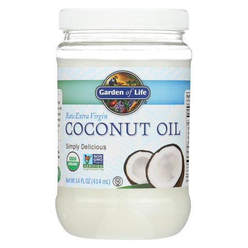Garden Of Life Organic Coconut Oil - Raw Extra Virgin - Case Of 6 - 14 Fl Oz-Eco-Friendly Home & Grocery-Garden Of Life-EpicWorldStore.com