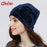Geebro Brand Womens Hat Skullies Beanies Polyester Knitted Hats Beanie Hat Spring Casual-Accessories-Geebro Official Store-Black-EpicWorldStore.com