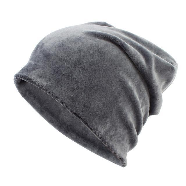 Geebro Brand Womens Hat Skullies Beanies Polyester Knitted Hats Beanie Hat Spring Casual-Accessories-Geebro Official Store-Dark Grey-EpicWorldStore.com