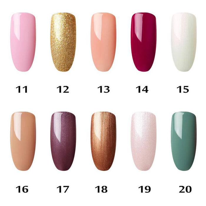 Gelfavor 01-58 Pure Colours Gel Nail Polish Soak-Off Uv Led Long-Lasting Nail Lacquer Semi Primer-Nails & Tools-Gelfavor Store-03-EpicWorldStore.com