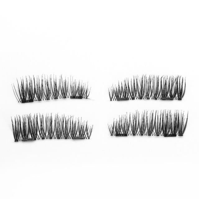 Genailish False Eyelashes 6D Magnetic Lashes Double Magnet Fake Eye Lashes Hand Made Strip Lashes-Makeup-Sexy Eyes Store-KS05-SY-EpicWorldStore.com