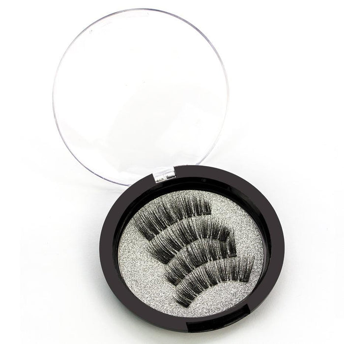 Genailish Magnetic Eyelashes With 3 Magnets Handmade 3D/6D Magnet Lashes Natural False Eyelashes-Makeup-Beautiful Eyelashes Store-KS02-3-EpicWorldStore.com