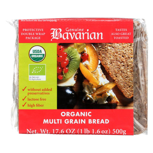 Genuine Bavarian Breads Rye - Multigrain - Case Of 6 - 17.6 Oz.-Eco-Friendly Home & Grocery-Genuine Bavarian-EpicWorldStore.com