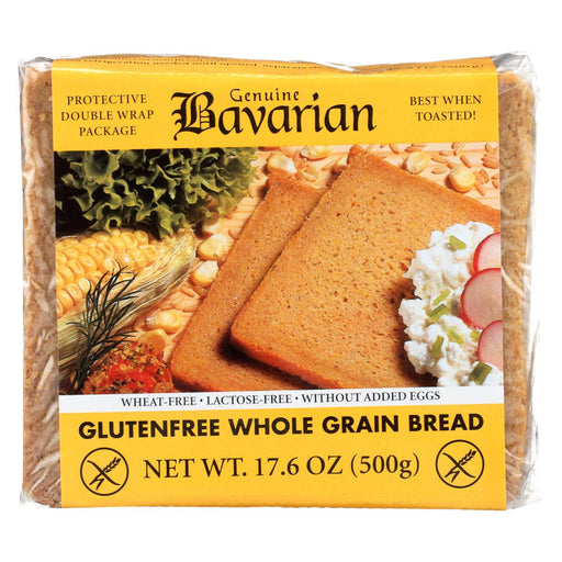 Genuine Bavarian Organic Bread - Whole Grain - Case Of 6 - 17.6 Oz.-Eco-Friendly Home & Grocery-Genuine Bavarian-EpicWorldStore.com