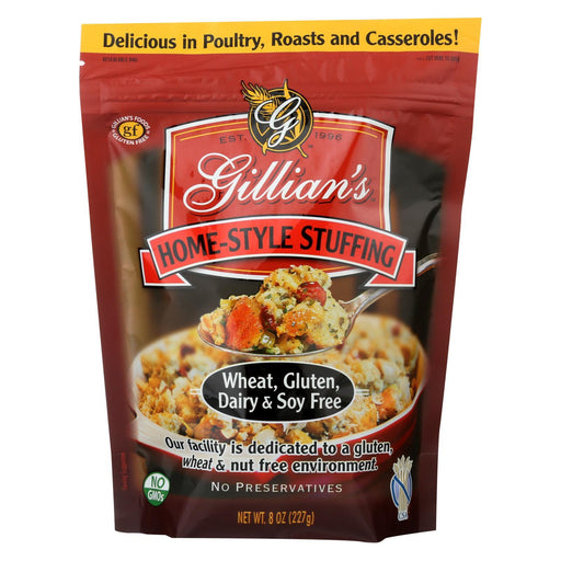 Gillians Food Home Style Stuffing - Gluten Free - Case Of 6 - 8 Oz.-Eco-Friendly Home & Grocery-Gillian's Food-EpicWorldStore.com